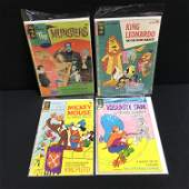 VINTAGE GOLD KEY COMICS BOOK LOT (THE MUNSTERS, MICKEY