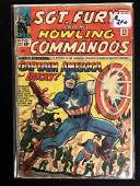 SGT. FURY And His HOWLING COMMANDOS #13 (MARVEL COMICS)