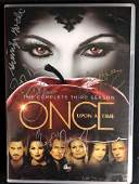 ONCE UPON A TIME CAST SIGNED DVD COVER