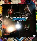 Eddie Van Halen/ David Lee Roth Autographed FIRST Album