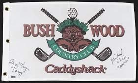 "Cindy Morgan & Michael O'Keefe Signed ""Caddyshack"""