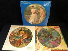 PICTURE DISC LOT MARRY POPPINS PINK FLOYD SNOW WHITE