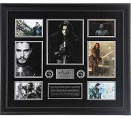 KIT HARRINGTON GAME OF THRONES SIGNED LIMITED EDITION