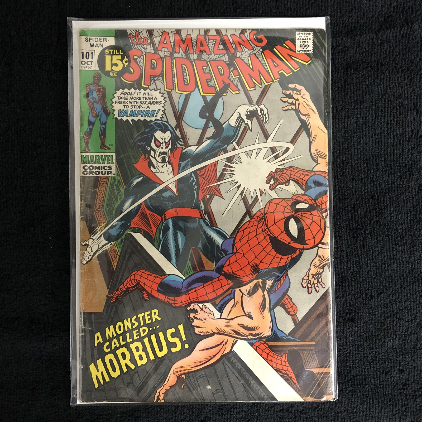 THE AMAZING SPIDER-MAN #101 (MARVEL COMICS)