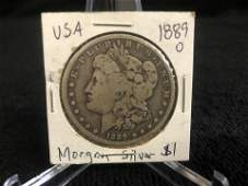 1889 USA MORGAN SILVER DOLLAR NEW ORLEANS MINTED