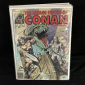 The Savage Sword of CONAN The BARBARIAN 107 MARVEL