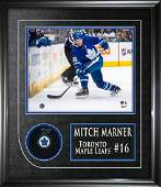 MITCH MARNER TORONTO MAPLE LEAFS FRAMED SIGNED PUCK
