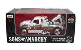 Tommy Flanagan Signed Sons of Anarchy 124 Die Cast