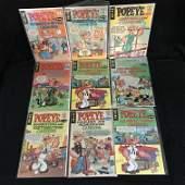 VINTAGE POPEYE COMIC BOOK LOT KING COMICS