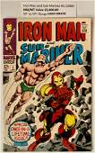IRON MAN AND SUBMARINER 1 1968 MARVEL COMICS