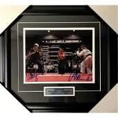 Ralph MacchioWilliam Zabka Framed Autographed Karate