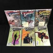 SUPERMAN/ SUPERBOY COMIC BOOK LOT (DC COMICS)