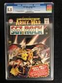OUR ARMY AT WAR...SGT ROCK #163 (CGC 5.5) DC COMICS