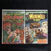 MARVEL COMICS BOOK LOT (RED SONJA #3/ WEREWOLF BY NIGHT