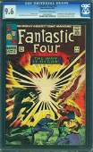 FANTASTIC FOUR #53 CGC GRADE 9.6 (MARVEL COMICS) 1966