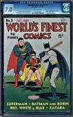 WORLD'S FINEST COMICS #3 CGC GRADE 7.0 (DC COMICS) 1941