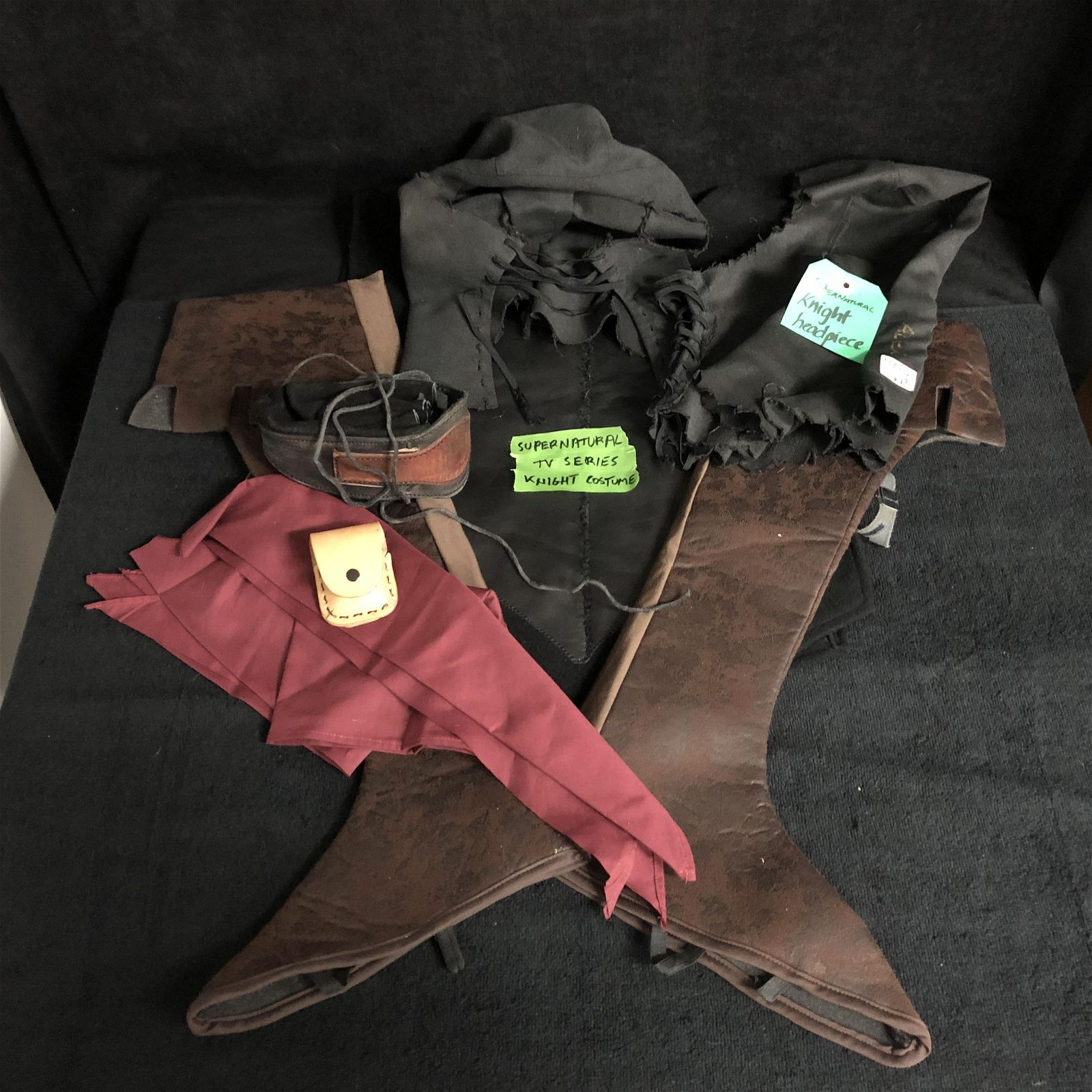 KNIGHT COSTUME FROM SUPERNATURAL TV SERIES