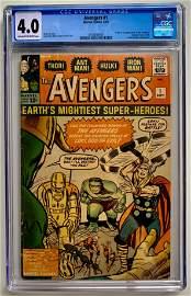 AVENGERS #1 (CGC 4.0) MARVEL COMICS