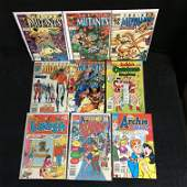 THE NEW MUTANTS ARCHIE SERIES COMIC BOOK LOT