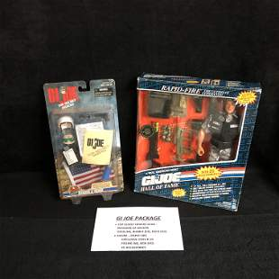 G.I. JOE COLLECTIBLES PACKAGE