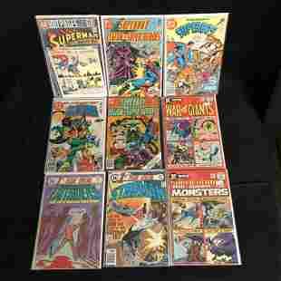 ASSORTED DC COMICS BOOK LOT (SUPERBOY, STARMAN...)