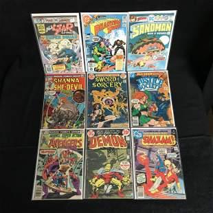 ASSORTED MARVEL/ DC COMICS BOOK LOT