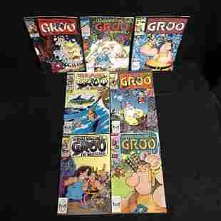 GROO THE WANDERER COMIC BOOK LOT (MARVEL COMICS)