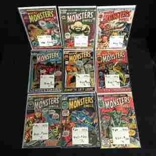 WHERE MONSTERS DWELL COMIC BOOK LOT (MARVEL COMICS)