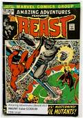 AMAZING ADVENTURES BEAST 13 MARVEL COMICS