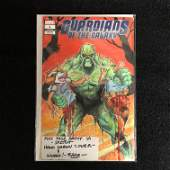 GUARDIANS OF THE GALAXY 1 MARVEL COMICS Signed 11