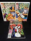 MARVEL COMICS BOOK LOT (SILVER SURFER, AMAZING