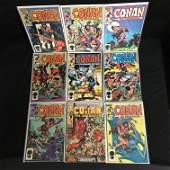 CONAN THE BARBARIAN COMIC BOOK LOT MARVEL COMICS