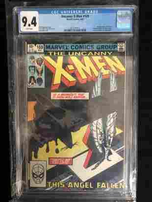 UNCANNY X-MEN #169 CGC UNIVERSAL GRADE 9.4 (MARVEL