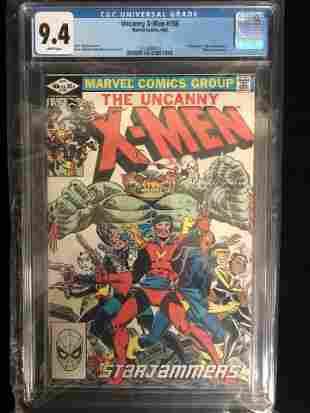 UNCANNY X-MEN #156 CGC UNIVERSAL GRADE 9.4 (MARVEL