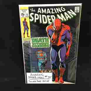 THE AMAZING SPIDER-MAN #75 (MARVEL COMICS)