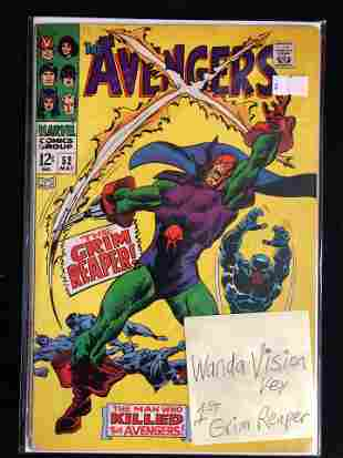 THE AVENGERS #52 (MARVEL COMICS)