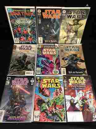 ASSORTED STAR WARS COMIC BOOK LOT