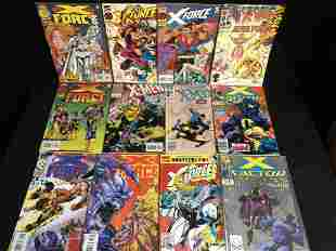 X-FORCE/ X-FACTOR COMIC BOOK LOT (MARVEL)