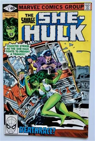 THE SAVAGE SHE-HULK #2 (MARVEL COMICS)