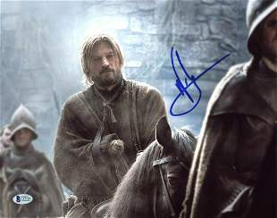 Nikolaj Coster-Waldau Game Of Thrones Authentic Signed
