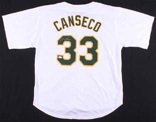Jose Canseco Signed Jersey (JSA COA)