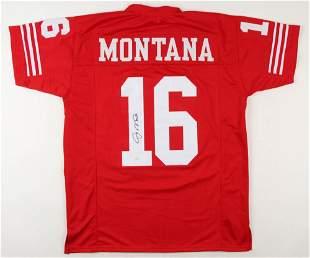 Joe Montana Signed Jersey (JSA COA)