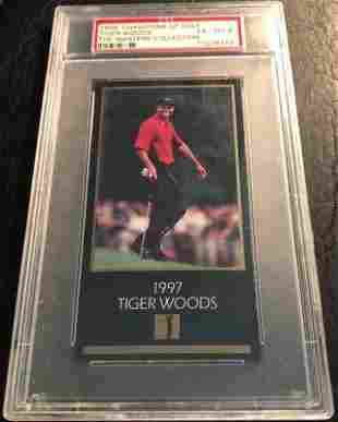 1998 CHAMPIONS OF GOLF TIGER WOODS THE MASTERS COLLECTI