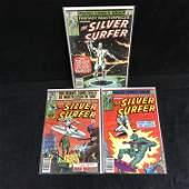 THE SILVER SURFER COMIC BOOK LOT (MARVEL COMICS)