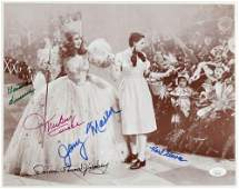 """""""The Wizard of Oz"""" 11x14 Photo Cast-Signed by (5)"""