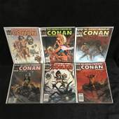 THE SAVAGE SWORD OF CONAN COMIC BOOK LOT (MARVEL