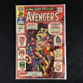 THE AVENGERS #1 (MARVEL COMICS) KING-SIZE SPECIAL!