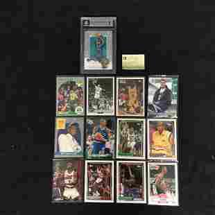 ASSORTED BASKETBALL ROOKIES CARD LOT