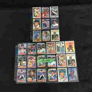 MLB BASEBALL ROOKIE CARD LOT