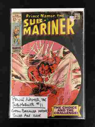 PRINCE NAMOR, THE SUB-MARINER #11 (MARVEL COMICS)